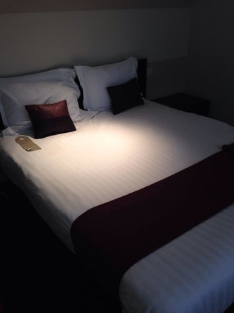 Park Plaza Leeds: My comfy bed