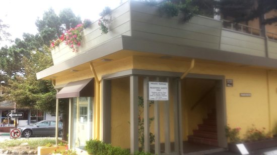 BEST WESTERN Carmel's Town House Lodge: Hotel Cafe
