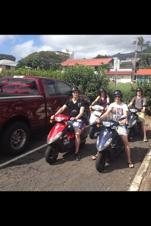Island Motion Moped & Scooter Rentals & Tours