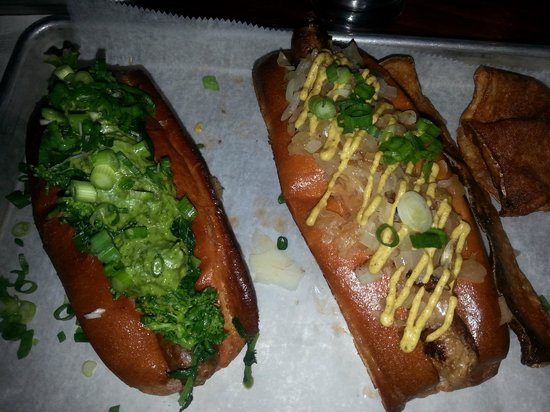 Italian & German hot dogs - Picture of New Brunswick, New Jersey ...