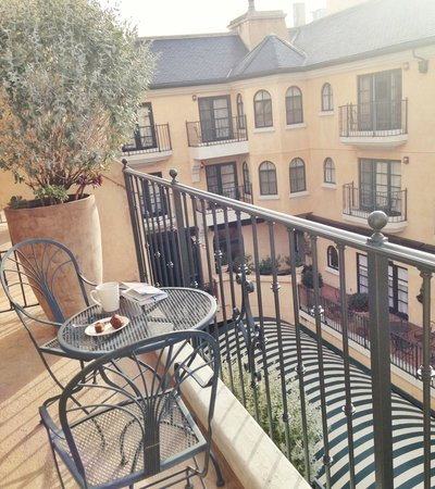 Balcony Off Of Our Room Picture Of Garden Court Hotel Palo Alto Tripadvisor