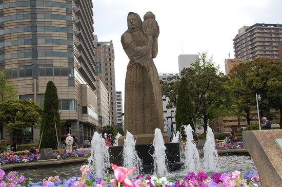 Guardian Of Water Statue Given By Sister City Sandiego