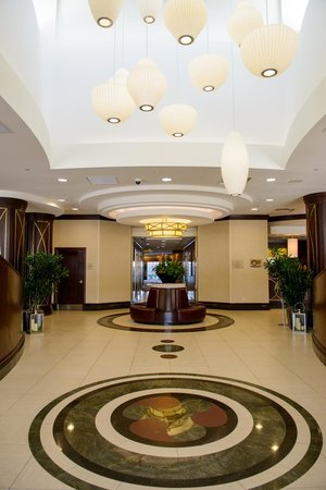 Front Lobby Picture Of Hilton Garden Inn Toronto Airport