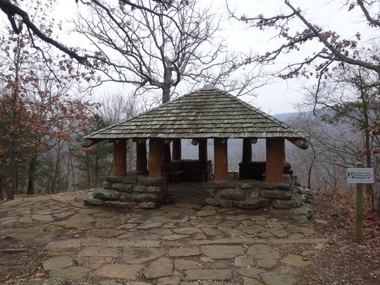 Devils den trails picture of west fork arkansas Devils fork state park cabin rentals