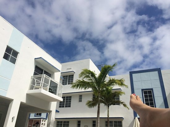 Pestana South Beach Art Deco Hotel: Happily chilling out