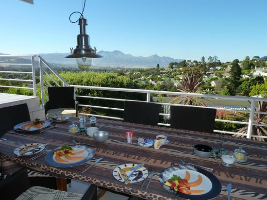 African Dreams: View from Breakfast Patio