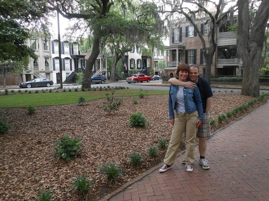 Explore Savannah: One of the many squares