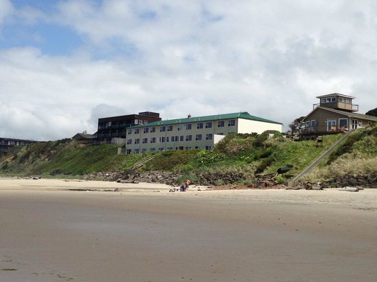 From The Beach Picture Of Pelican Shores Inn Lincoln