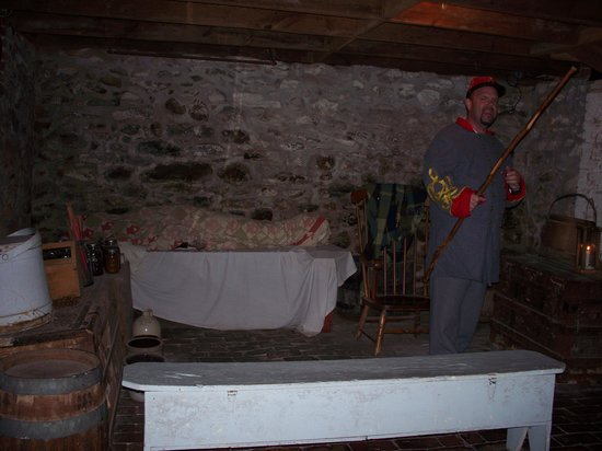 gettysburg photo the basement of the jenny wade house with johnny reb