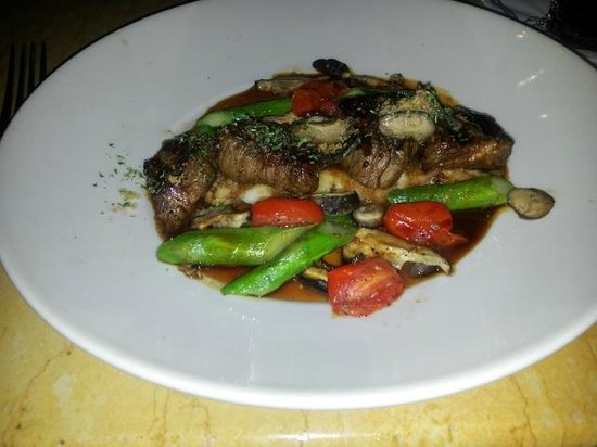 Grilled Steak Medallions - Picture of Cheesecake Factory, Los Angeles ...