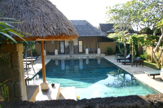 The Sungu Resort & Spa: one of the two pools
