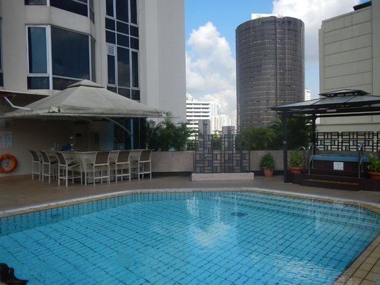 Pool Area On The 5th Floor Picture Of Riverview Hotel
