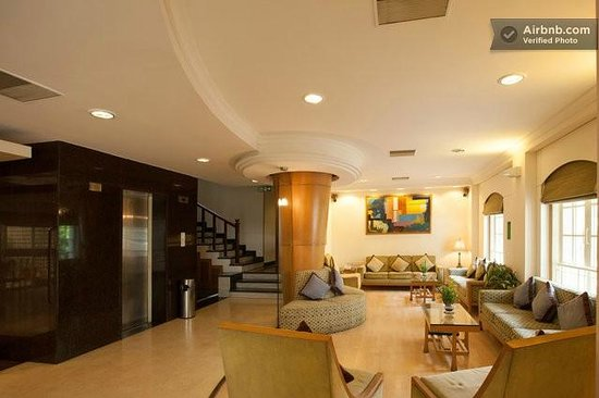 Lobby picture of tristar service apartments bengaluru for Terrace restaurants in bangalore