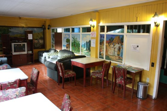 Hostel Mamallena: this is one of the places to hang out in the hostel