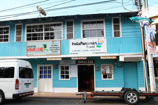 Hostel Mamallena: this is the front of Mamallena Hostel