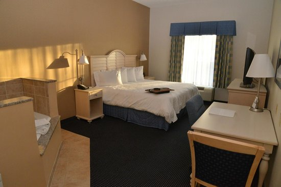 Hampton Inn and Suites Cape Cod - West Yarmouth: king bed