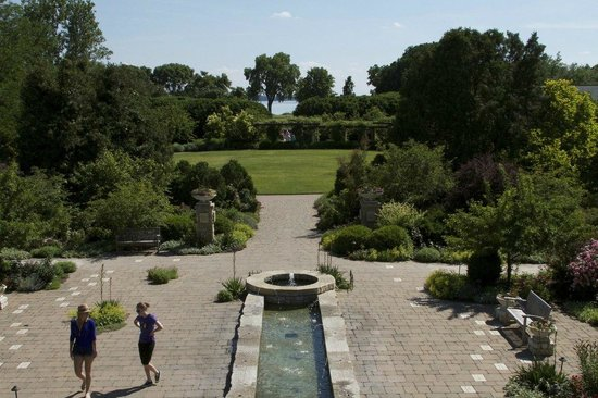 A View From The Rose Garden Picture Of Olbrich Botanical Gardens Madison Tripadvisor