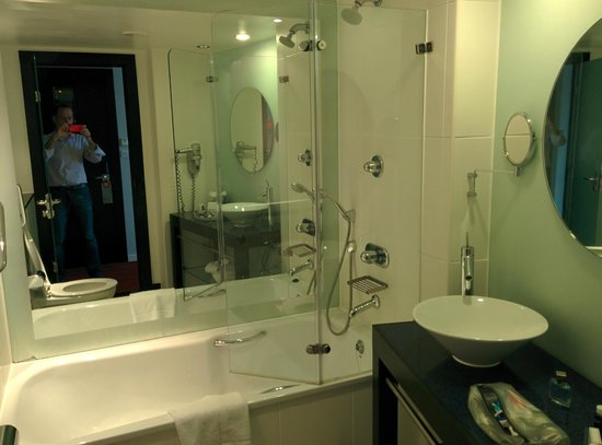 Park Plaza Leeds: The bathroom