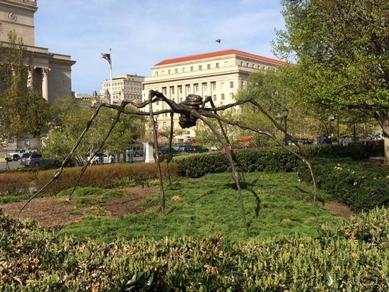 Louise Bourgeois Spider Is So Cool Picture Of National Gallery Of Art Sculpture Garden