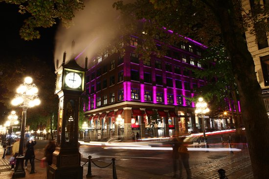 Gas Town Time Exposure  Picture Of Photo Tours Vancouver  Private Tours Va