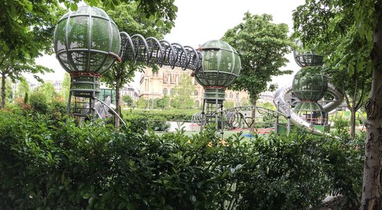7 up playground at les halles picture of jardin nelson for Au jardin des colibris tripadvisor