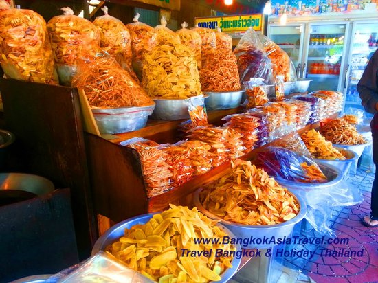 Dried Fruits Market in Thailand Tour and Holiday - Picture of Bangkok Asia Tr...
