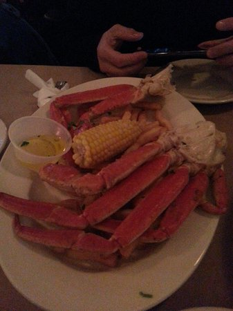 Clementes Maryland Crab House Photo: snow crab legs