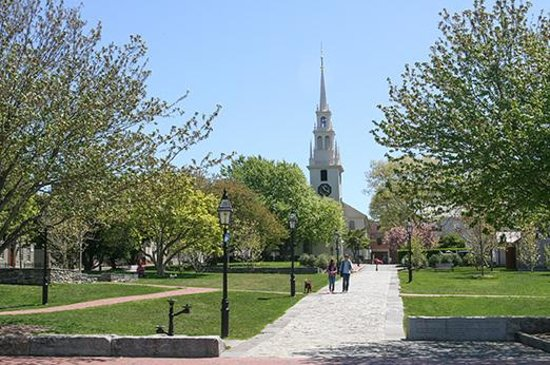 Queen Anne Square, Newport, Rhode Island by Discover Newport