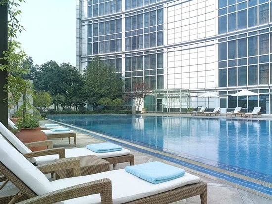 Outdoor swimming pool picture of new world wuhan hotel wuhan tripadvisor for China fleet club swimming pool prices