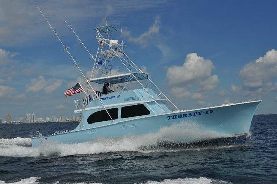 Real therapy for Deep sea fishing miami