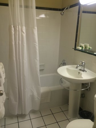 Virginian Suites Arlington: Bath room