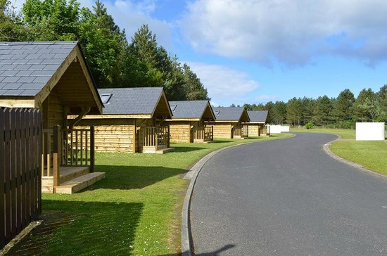 Limavady, UK: New Camping Lodges available at Benone Tourist Complex