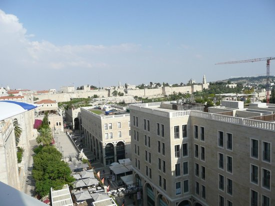 Mamilla Hotel: From the rooftop terrace