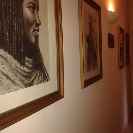 AfroChic Diani: Paintings on the corridors