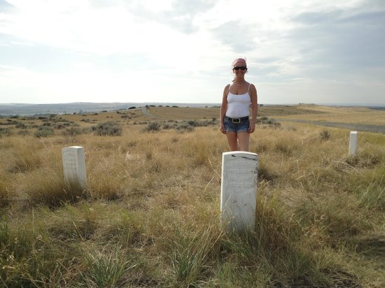 Custer (SD) United States  city photo : Custer, SD: Standing in amongst the gravesites.