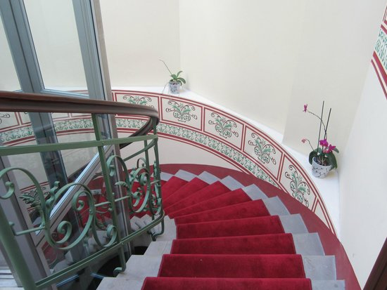 stairs picture of red brick apartments krakow tripadvisor