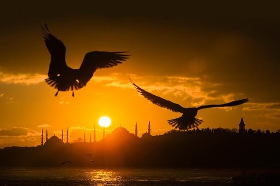 Turkey: Have you ever crossed from one continent to another by ferry in less than 20 minutes? Well, that