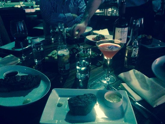 dinner - picture of stk, london