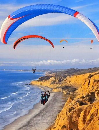 Paragliding At Torrey Pines Gliderport Picture Of Torrey