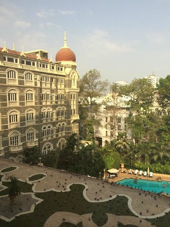 The Taj Mahal Palace: view from our room