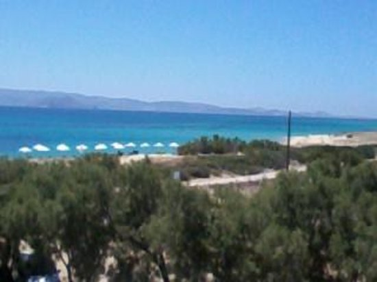 Acti Plaka Apartments: view from our balcony