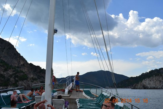 Turunc Promenade - Picture of Mega Diana Boat Trip-Private Tours, Marmaris - ...