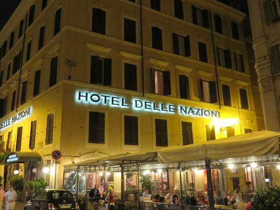 Hotel delle Nazioni: Right in the heart of everything!