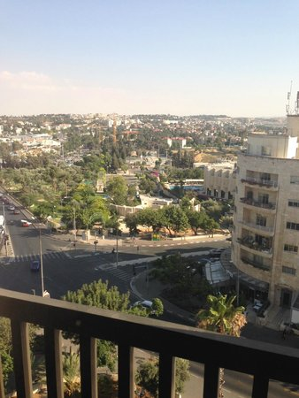 view from our room picture of king solomon hotel. Black Bedroom Furniture Sets. Home Design Ideas