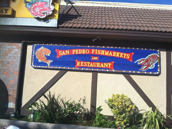 Salmon picture of san pedro fish market restaurant for Fish market restaurant san diego