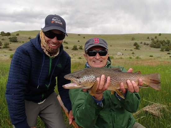 Float or wade fishing picture of montana angler fly for Bozeman fishing report