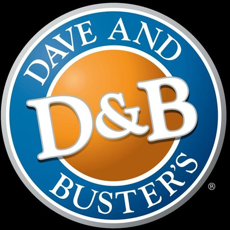dave buster 39 s logo picture of dave and buster 39 s d b. Black Bedroom Furniture Sets. Home Design Ideas