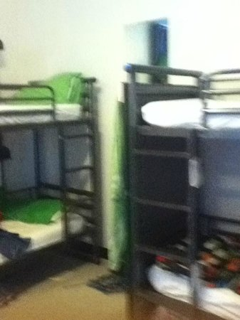 YHA London Central: Four beds in the 8 bed room