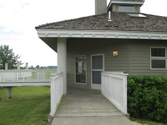 Outside Access Of Two Bedroom Cabin Picture Of Maumee