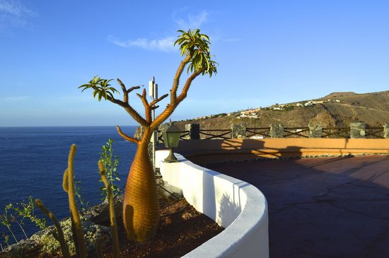 Tenerife in the morning from hotel jardin tecina picture for Hotel tecina jardin la gomera